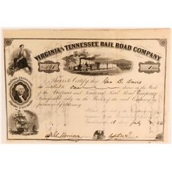 Virginia and Tennessee Rail Road Co  (114670)
