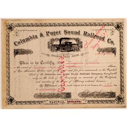 Columbia & Puget Sound railroad Co.  (114890)