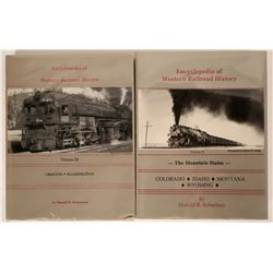 Encyclopedia of Western Railroad History Volumes II and III  (115316)