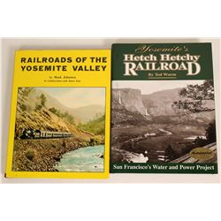 Yosemite Railroad Books  (115244)