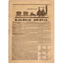 American Railroad Journal, Volume 1, No. 20  (115616)