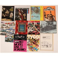 1970's Model Kits & Model Railroad Catalogs (11)  (116262)