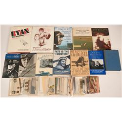 Collection for the Aviator Collector - 11 Books (7 HB, and 5 softcovers) and 60+Real Photo Postcards