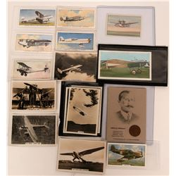 Aviation Cigarette Cards RPC and Litho  (116612)