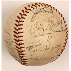 1965 Minnesota Twins Autographed Baseball  (116079)