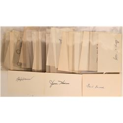 Baseball Hall of Fame Autographs  (114934)