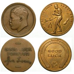 Boxer Joe Louis Medals  (116309)
