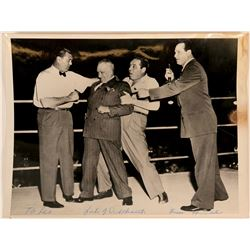 Boxing Photo feat. Jack Dempsey, Max Baer & Others  (113193)