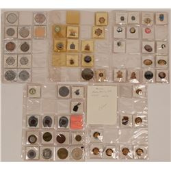 Horse Racing  Button, Token and Pin Collection  (116405)