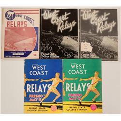 Track & Field Programs (5)  (116462)