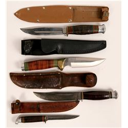 Hunting Knives four count  (114434)