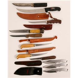 Filet and Butcher knives  (114435)