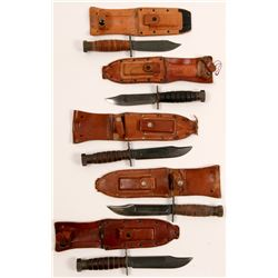 Camillus Military knives, 5 count  (114439)