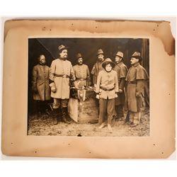 "Civil War General Photographs (CDV) Fraternal Org - OBA ""the Capture of a Girl Spy Part ii"" Blazing"