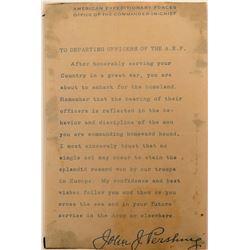 World War II Go Home Notice  (113174)