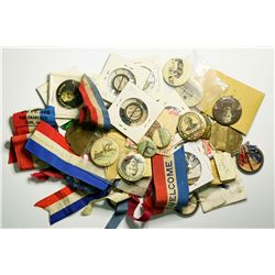 The Great White Fleet medals collection c. 1908  (109012)