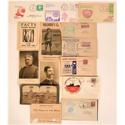 Military Collection is Wide Variety of Covers and Advertisements  (116334)