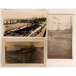 Submarine Real Photo Postcards  (113121)