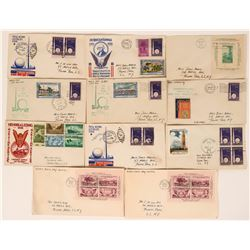New York Worlds Fair First Day Covers  (116427)