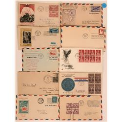 First Day Covers Via Air Mail  (116055)