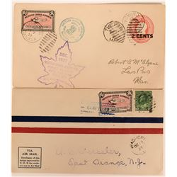 Canada 1st Flight Covers: Western Canada Airways to The Pas Mining Area  (115049)