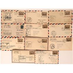 Canadian Air Mail and First Flights Covers: Fort McMurray  (115106)