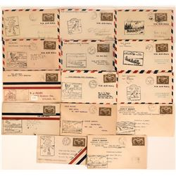 Canadian Air Mail and First Flights Covers: Fort McMurray   (115107)