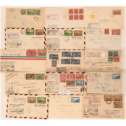 Canadian Air Mail, First Flight, & First Day Covers  (115054)
