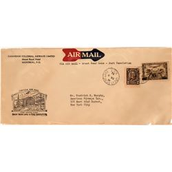 Canadian First Flight Cover: Great Bear Lake to Fort Resolution  (115066)