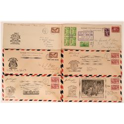 1937 Canada First Flight Airmail Covers  (115036)