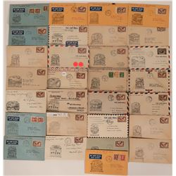 29 Canadian First Flight Covers: 1937   (115041)