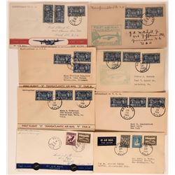 Canadian First Flights Covers: Newfoundland to US  (115094)