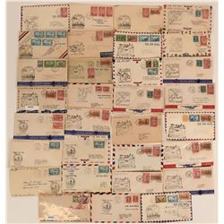 Summer of 1939 Canadian First Flight Covers  (116590)