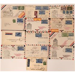 1940s Canadian 1st Flight Covers  (115061)