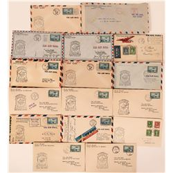 1942 Canadian First Flight Covers  (115064)