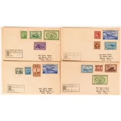 Four Canadian 1st Flight Covers  (116664)