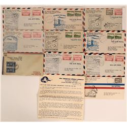 Canadian First Flights Covers: Pan. Am. Gander 1940s  (115092)