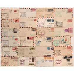 First Flight Covers: Massachusetts  (116648)