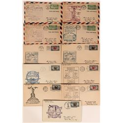 Air Mail Week Covers  (116660)