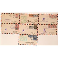 Trans Pacific 1st Flight Covers  (116435)