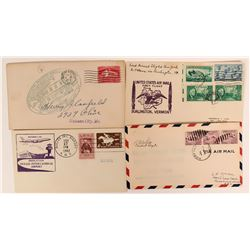 Virginia Airport Dedication, First Flight, & Commemorative Covers (116819)