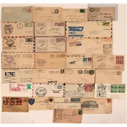 Misc. US Cover Collection incl. First Flight, Corner Ad, Air Mail  (117137)