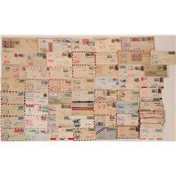 Transatlantic First Flight Stamp Covers (70)  (117122)