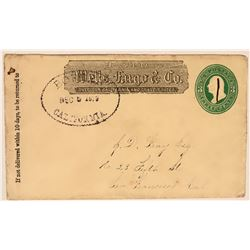 Borden, Madera County Wells Fargo Cover  (116221)