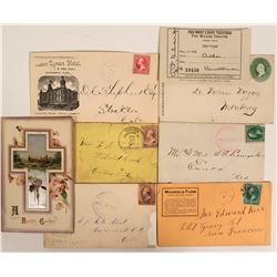 Southern California & Central Valley Postal History  (112643)