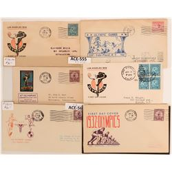 1932 Los Angeles Olympics Covers  (116785)