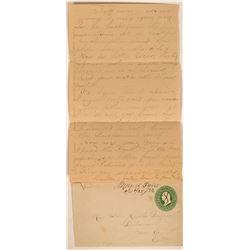 Merced Falls Cover & Letter  (116219)