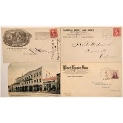 Nevada City & Grass Valley Postal History  (113033)