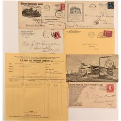 Oakland Advertising Postal Covers  (113006)