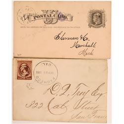 Pacheco Cover & Postal Card  (113032)